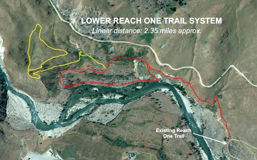 Lower Reach One Trail Plan